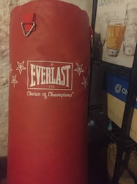 red and black Everlast heavy bag Duluth, 55806