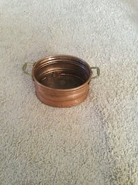 Vintage copper decor with brass handles Jeffersonton, 22724