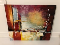 NEW Abstract Painting Canvas - 22.5 inches x 19 inches Toronto