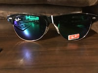 black framed Ray-Ban Clubmaster sunglasses Baton Rouge, 70815