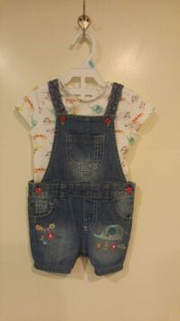 6m dungaree outfit