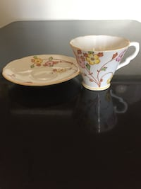 Gladstone teacup and saucer Langley, V3A 8T4