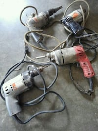 gray and black corded power drill Glenn Dale, 20769