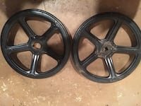 "2- 16"" industrial shut off wheels Bluemont, 20135"