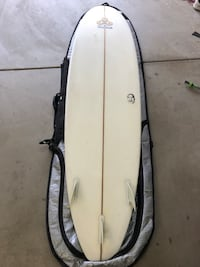 Surfboard and case Oceanside