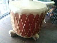 Drums all 3. Huge ,red ceader great condition