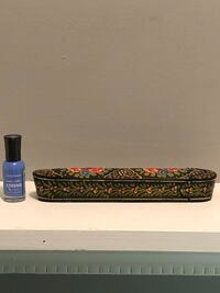 """Priced to sell! vintage pencil box 8"""" long X 1 1/4"""" wide X1 1/2"""" deep Edmonton, T6L 6P5"""