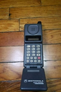 Old school Motorola flip phone