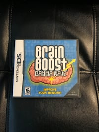 Nintendo DS Brain Boost Gama Wave Sterling, 20164