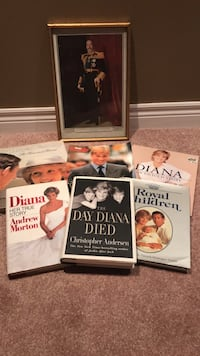 Princess Diana and royal family books and picture Hamilton, L9G 1S6