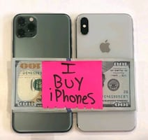 We Phones for cash iPhone Samsung and more