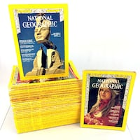 Lot 32 National Geographic Magazines Issues  [PHONE NUMBER HIDDEN] s 70s 90s 2000s Port Colborne