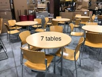 """4 legged table (42"""") with 4 wooden chairs Middle River, 21220"""