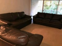 Leather Couches. Henrico, 23238