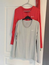 Nike Dry Fit Pro women's size large $50 for both Toronto