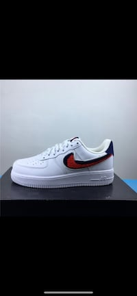 Air Force 1 Blue & Red swoosh , 10462
