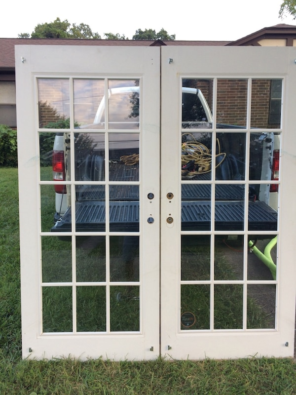 Used Two White Patio Doors For Sale In Knoxville Letgo
