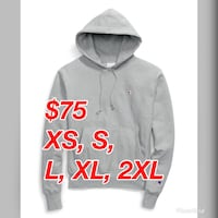 Authentic Brand New w/ Tags Champion Reverse Weave Grey Pullover Hoodie  Toronto, M1V 2Z4