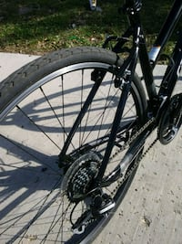 black and gray hardtail mountain bike Chicago, 60644