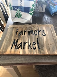 New sign 17 1/2 by 13 Farmers Market Kannapolis, 28081