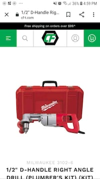 Milwaukee right angle drill London, N5Y 3E9