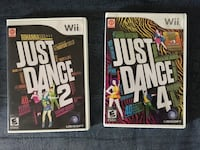 two Nintendo Wii game cases Kitchener, N2E 2K1