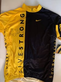 Autographed Lance Armstrong Jersey MARTINSBURG