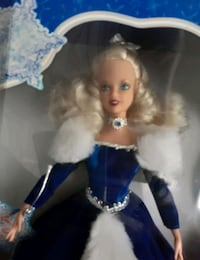 holiday magic limited edition 2000 Barbie doll on eBay for $35 to $55 Portland, 97206