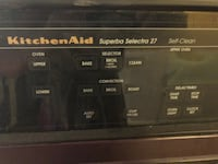 ELECTRIC KITCHENAID DOUBLE OVEN IN EXCELLENT CONDITION BOTTOM OVEN NEVER USED $600 OBO Las Vegas, 89121