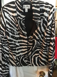 black and white zebra print textile Laval, H7G