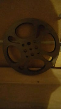 Movie wheel decor