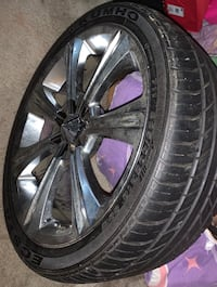 18 inch rims with tires Hyattsville, 20784