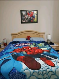 Queen/double Spiderman comfeter with acsesorys Brampton, L6P 0Z5
