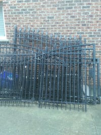 Wrought iron gates 1 is 12 and very good condition Vaughan, L4L 1C9