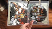 Sony PS3 Street Fighter disc in case