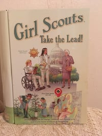 Girl Scout Book Shaped Tin