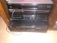 Kenwood-cassette and multiple compact disc player 2225 mi