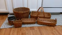 Longaberger/19th century baskets, free steamer! Centreville, 20120