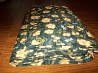 Quilt Fabric--5 1/2 yds Blue Dragonfly Floral Print Bellevue