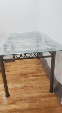 DINING TABLE GLASS WITHOUT CHAIR