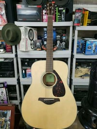 beige and black acoustic guitar Toronto, M6E 2J8