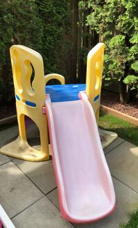 Kids backyard slide