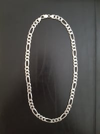 Heavy .925 Italian Sterling Silver Figaro Link Chain! Vaughan, ON, Canada