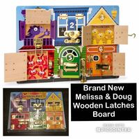 New Melissa and Doug latches board Vancouver, V5V 3B4