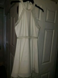 women's white sleeveless dress Hyattsville