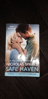 Safe Haven by: Nicholas Sparks Bristow, 20136