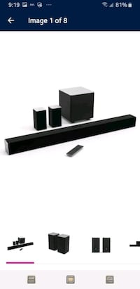 VIZIO SB3851-C0 42-Inch 5.1 Sound Bar System with
