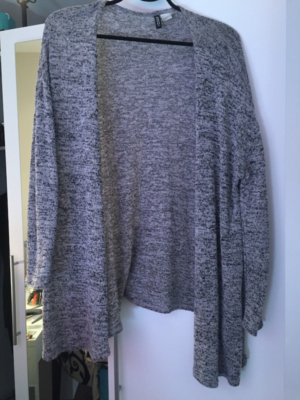 82448f0dc59 Used Salt and pepper coloured cardigan for sale in Niagara Falls - letgo