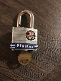 Master lock key  Malden, 02148
