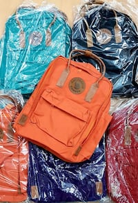 orange and black leather handbag Toronto, M5A